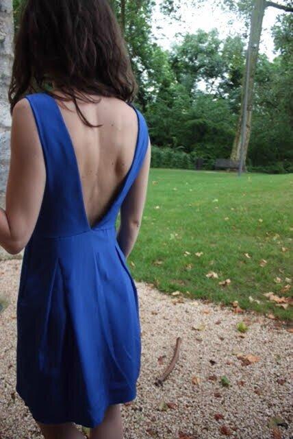 Alvernia, la robe que je ne pourrais jamais coudre pour moi.