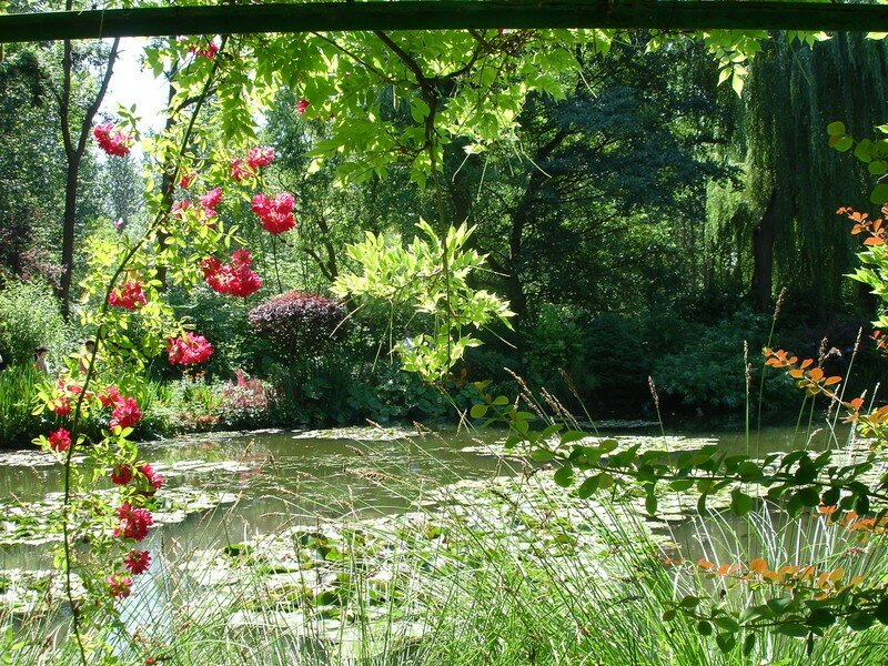 Jardin de monet giverny photo de arr t sur image for Jardin giverny