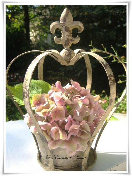 Couronne - hortensia