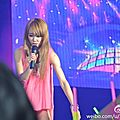 Jolin at concert in fugu county (yulin) & charity auctions on yahoo taiwan