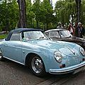 PORSCHE 356 1600 Super cabriolet Strasbourg (1)
