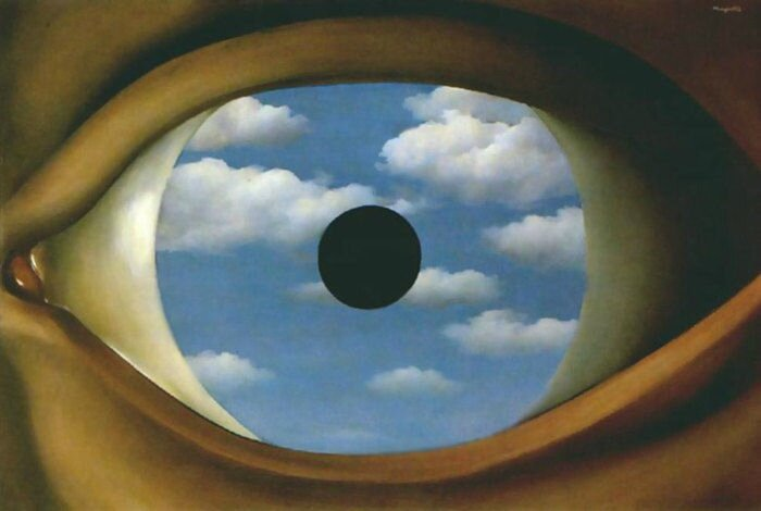 oeil magritte