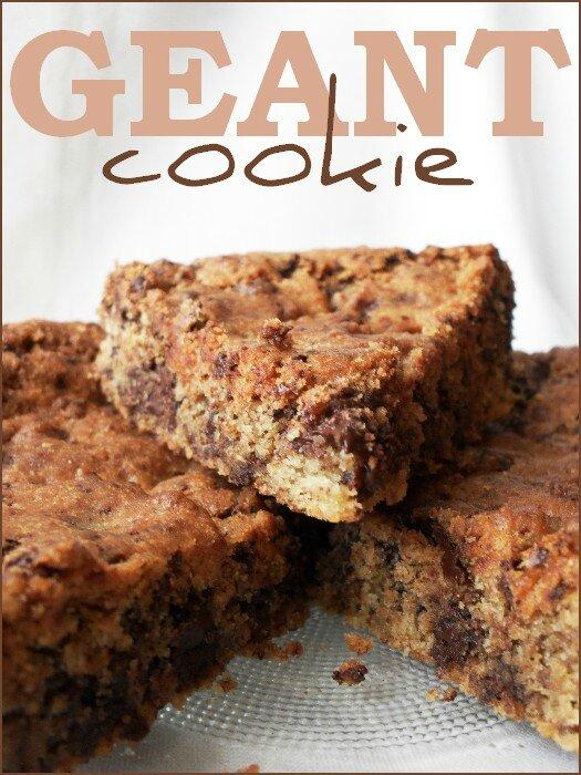 Cookie Géant à partager 1
