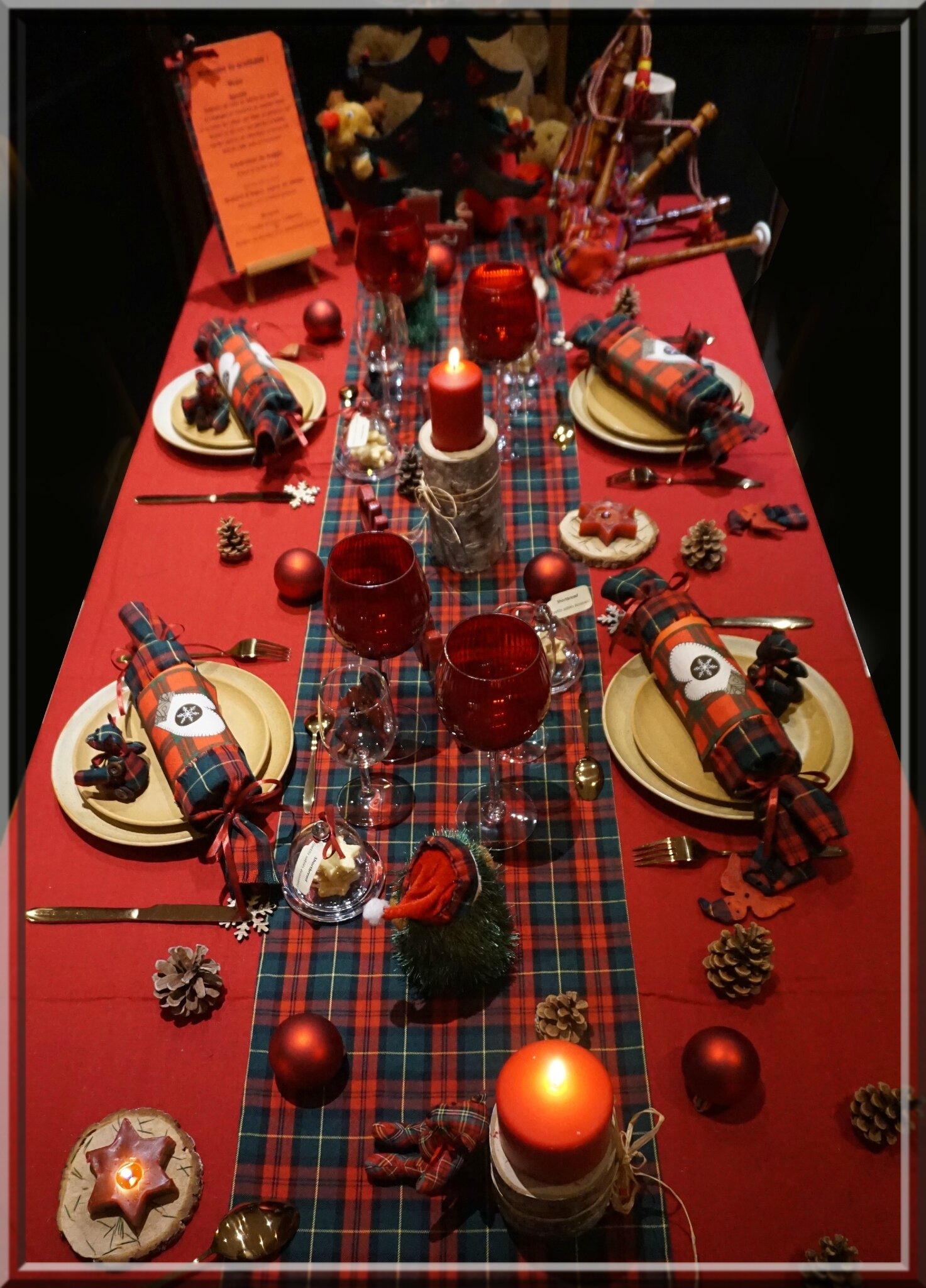 no l 2016 en ecosse martine met la table. Black Bedroom Furniture Sets. Home Design Ideas
