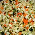 Bocaux aux petits légumes
