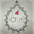 médaillon love