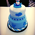Cake Art baby shower #Cake concept