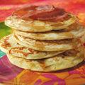 Pancakes au cheddar