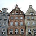 Gdansk, Voie Royale, façades