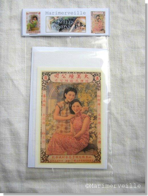 Marimerveille pochette transfert Belle de Shangai 3