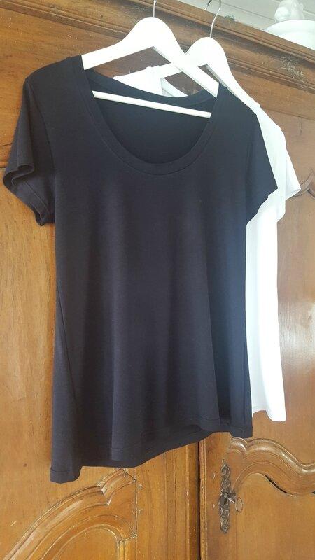 T-shirts Plantain b&w
