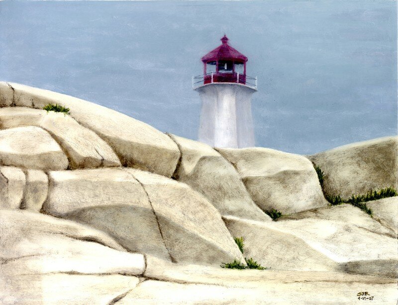 Lighthouses: Peggy's Cove