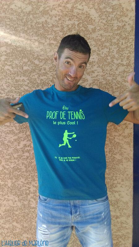 tee shirt sport tennis 1