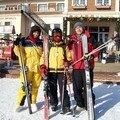 Les kinois font du ski...