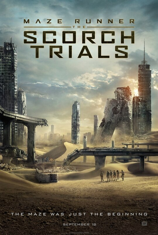 The Maze Runner - Scorch Trials movie poster