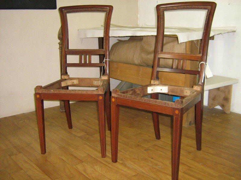 des chaises art deco l 39 empreinte d 39 elodie. Black Bedroom Furniture Sets. Home Design Ideas