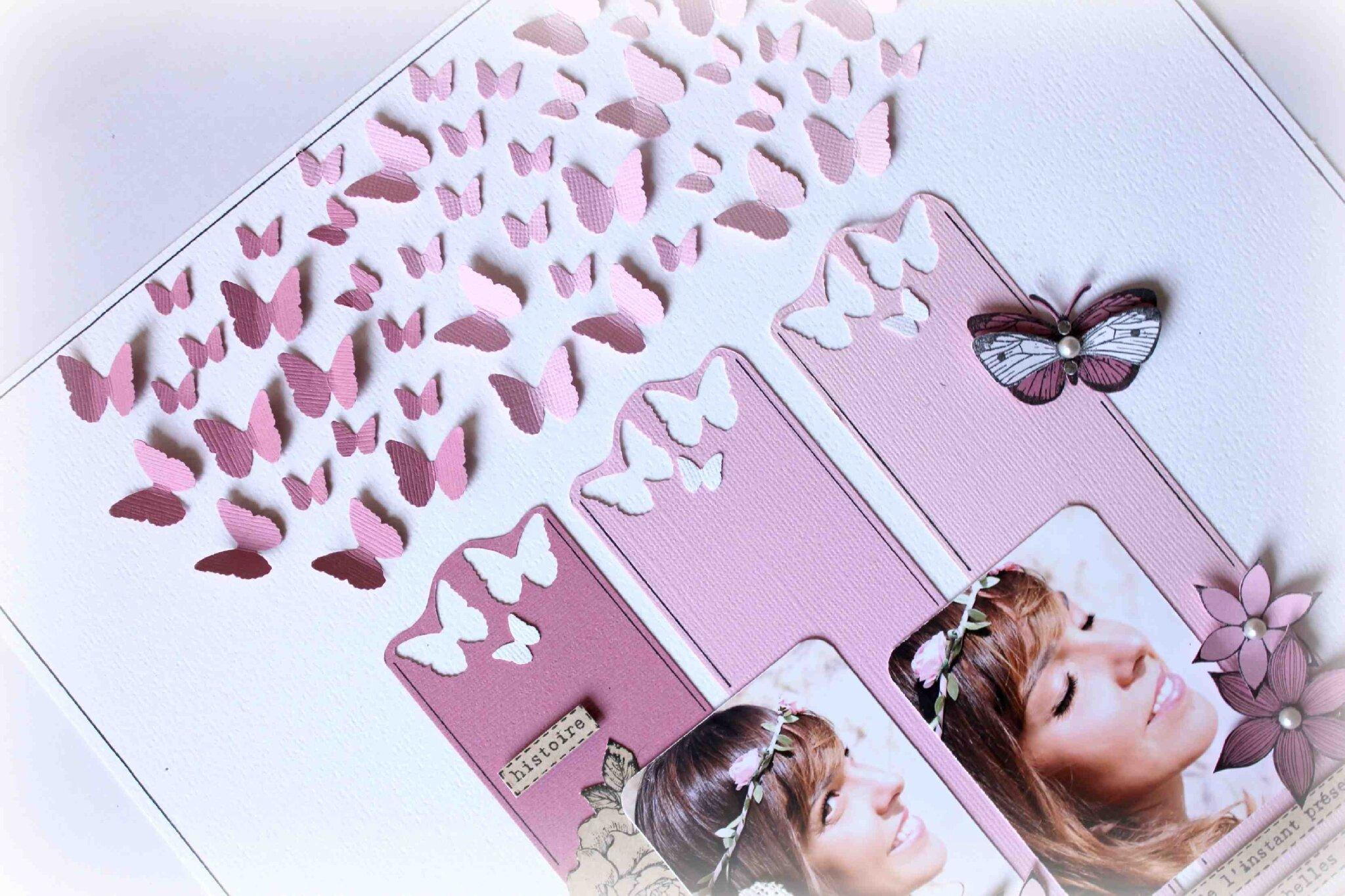 Envolée de papillons 4