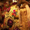 Carnet de voyage textile