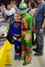 Mini-tortue ninja et mini-Superman