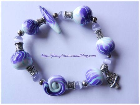 pate fimo bijoux polymere collier bracelet boucle d oreille artisanat (5)
