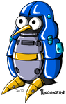 Penguinator_by_JenHedgehog