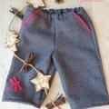 Pantalon nishi en lainage