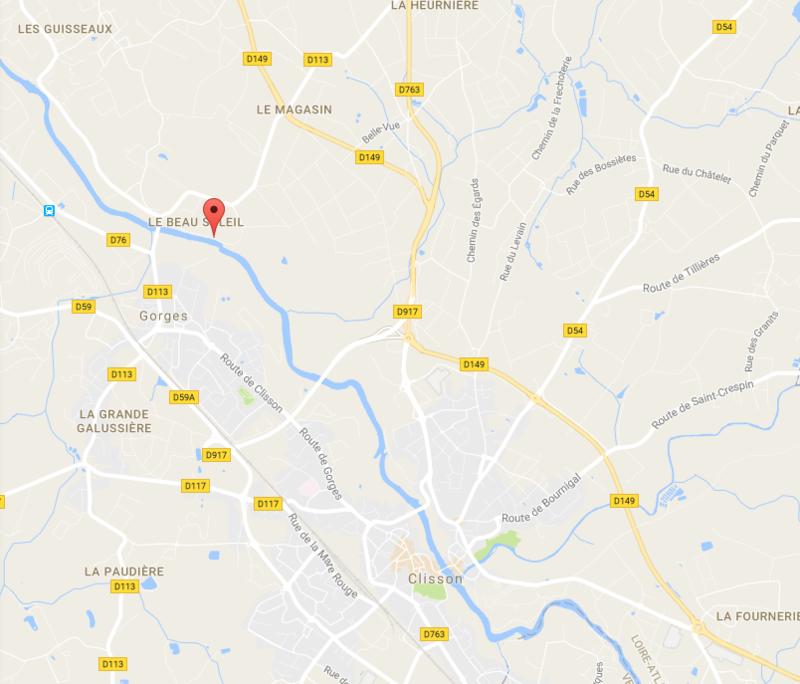 44190 Gorges_Le Liveau_plan acces