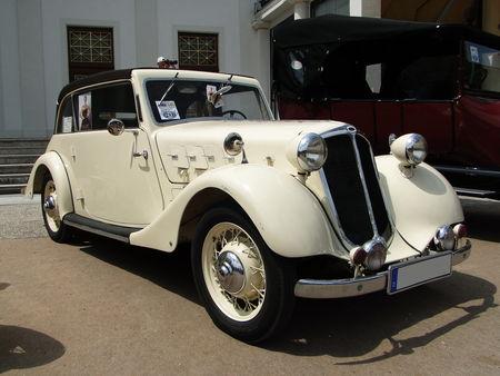 HANSA 1100 Cabriolet 1937 Internationales Oldtimer Meeting de Baden-Baden 2010 1