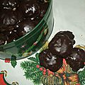 Gourmandises chocolatees aux amandes
