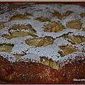 Gâteau aux pommes façon grand'mère