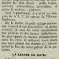 1913 24 mars : congrès de la j.c. et pèlerinage de st lié