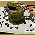 La pâte de pistache
