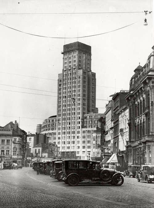 Boerentoren building, Antwerp, circa early 1930s