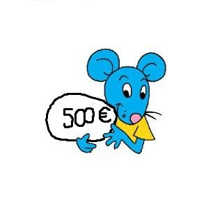 souris 1 or
