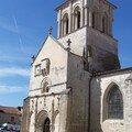 Frontenay Rohan-Rohan (79), église Saint-Pierre