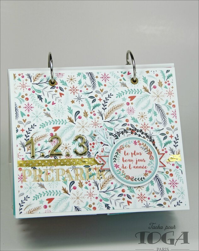 Collection Noel calendrier 2016 DT Tacha 1b