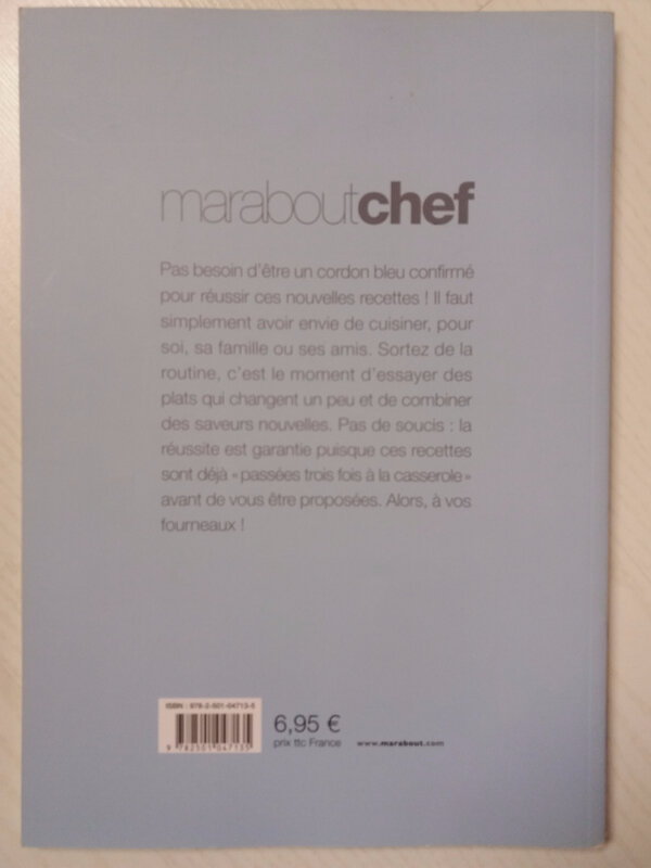 Marabout chef dos