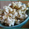 Cheezy pop corn ... sans fromage