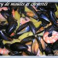 CURRY DE MOULES ET CREVETTES 