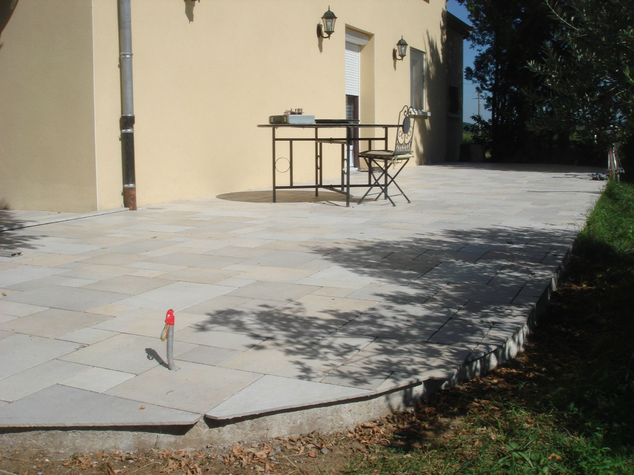 Pose carrelage sur dalle beton 28 images pose for Etancheite terrasse beton avant carrelage