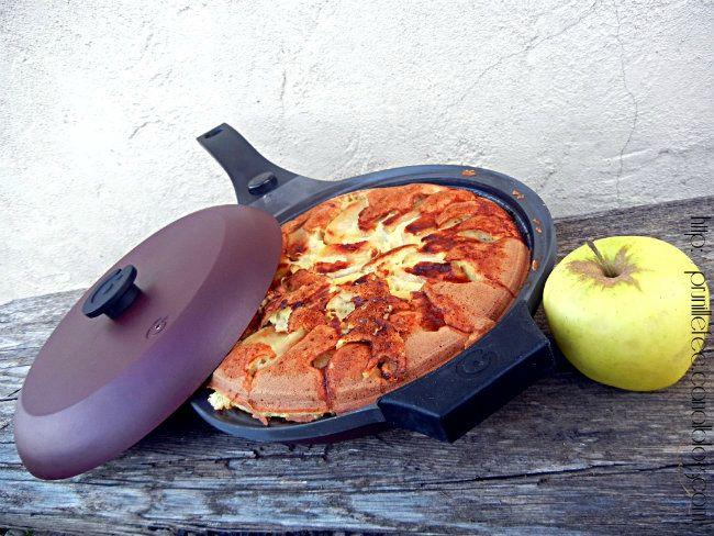 Recette gateau aux pommes poele
