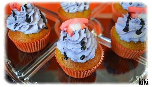 Cupcakes dracula