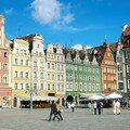 Wroclaw : place du marché