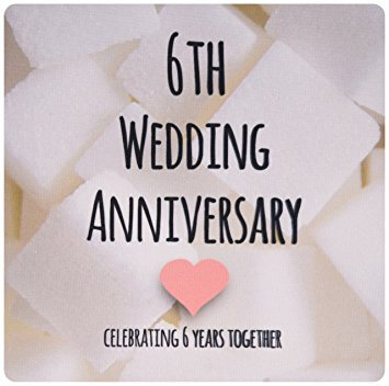 2018 0207 6th wedding anniversary