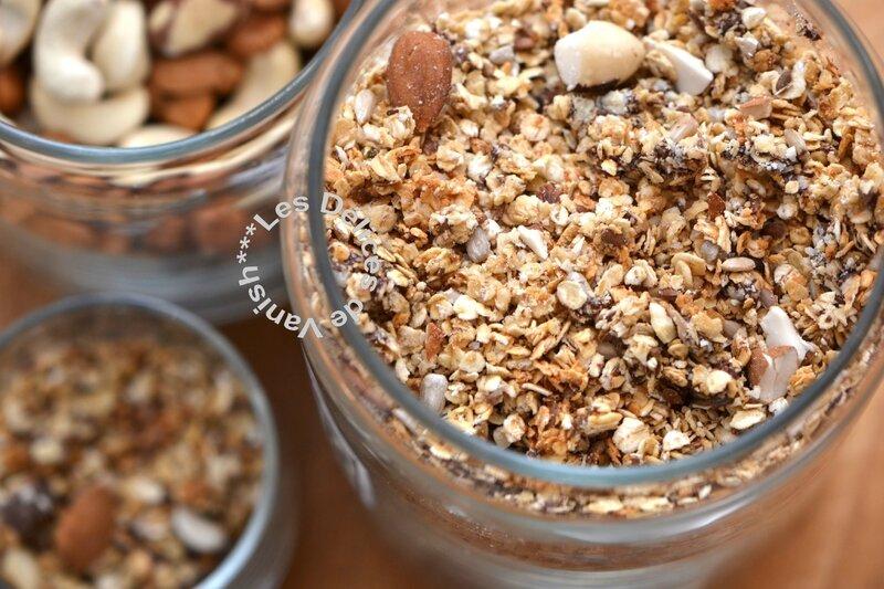 graines de lin, graines de tournesol, chunk chocolat, flexipat