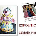 Michelle-pauline boudal tout l'été au musée peynet de brassac-les-mines !