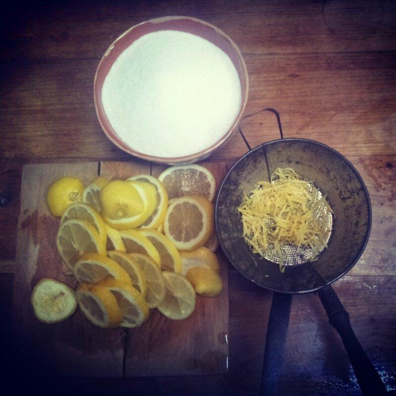confiture Thym Citron