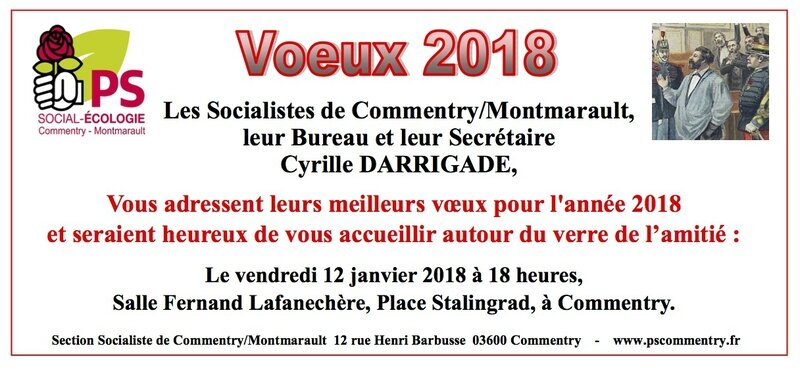 Cartons Voeux 2018