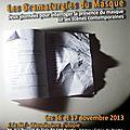 Rencontres: les dramaturgies du masque