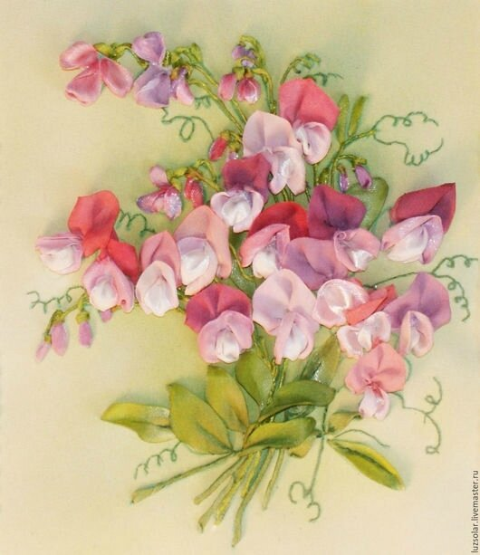 f4a46580f4898981b8a65dd211yj--paintings-panels-sweet-pea livemaster